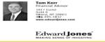 Edward Jones Investment, Tom Kerr--Bronze Sponsor