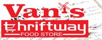 Van's Thriftyway Food Store--Silver Sponsor