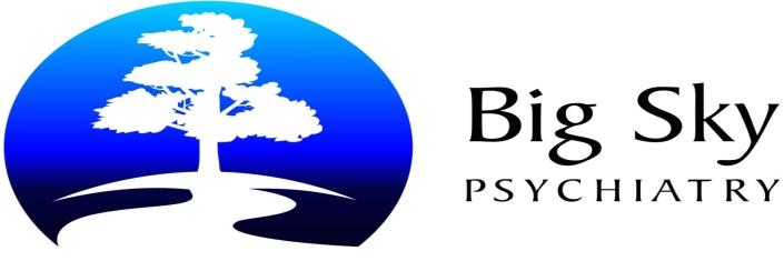 Big Sky Psychiatry Silver Sponsor