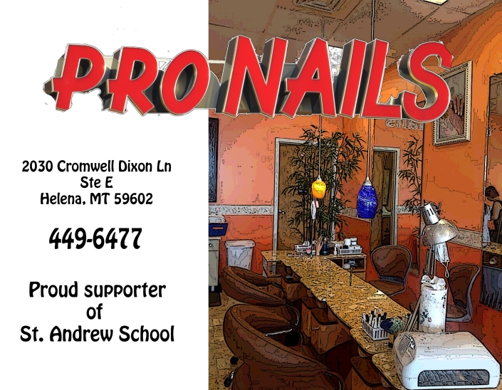 Pro Nails--Silver Sponsor