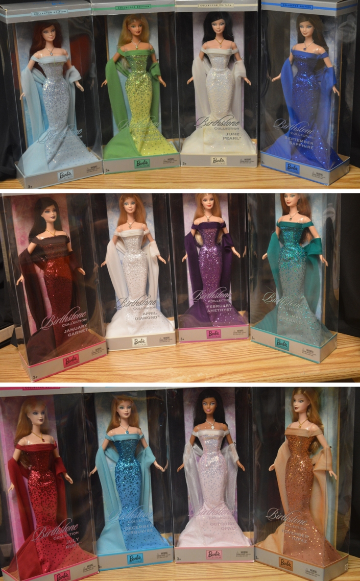 Birthstone Barbie Collection