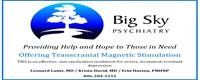 Big Sky Psychiatry--Silver Sponsor