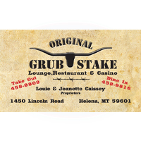 Grub Stake--Gold Sponsor