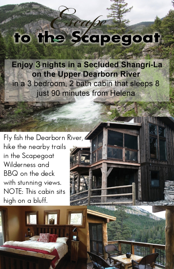 3 day stay at Dearborn Cabin (Th, Fri. & Sat. night, May-Oct.,sleeps 8