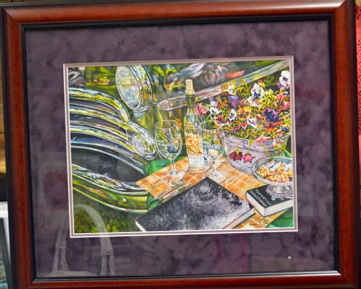 "Gordon Zuelke Painting ""Royal Molly"""